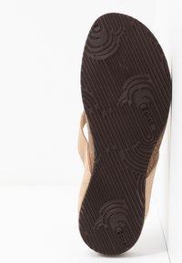 Scholl - TISTOIS - Flip Flops - beige - 6