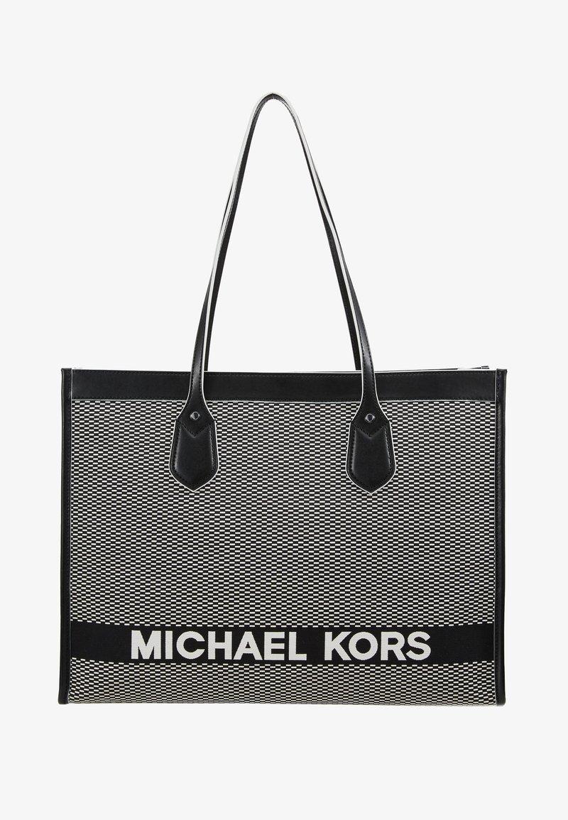 michael kors shoppingväska svart