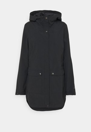 HERE AND THERE™ TRENCH JACKET - Regenjas - black