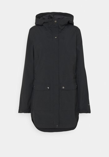 HERE AND THERE™ TRENCH JACKET - Waterproof jacket - black