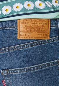 Levi's® - 512™ SLIM TAPER - Slim fit jeans - corfu how blue - 4