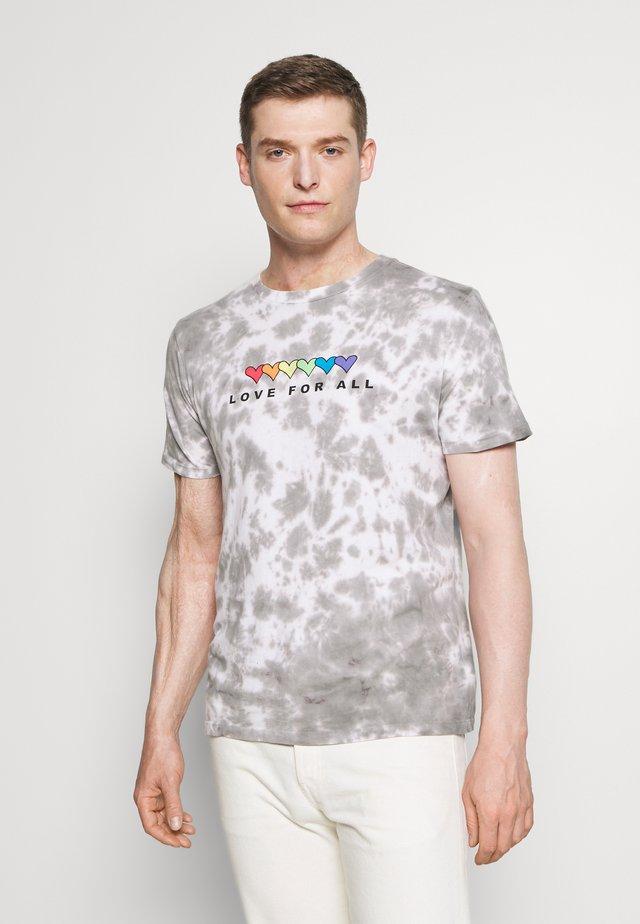 PRIDE - Print T-shirt - grey