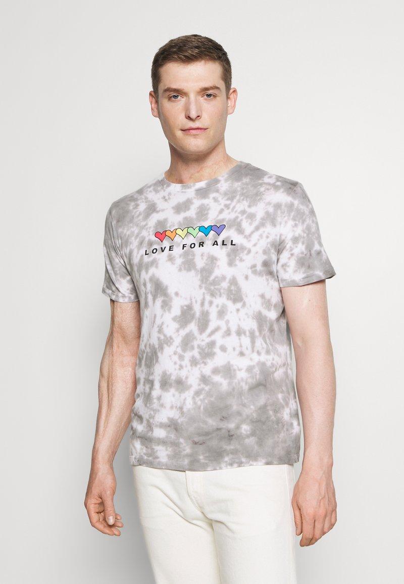 GAP - PRIDE - Print T-shirt - grey