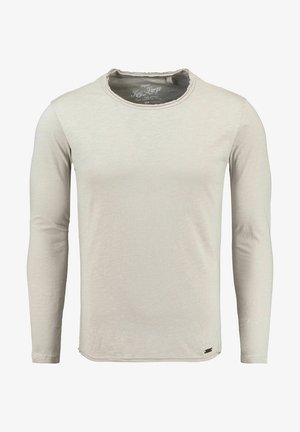 CHEESE - Long sleeved top - grau