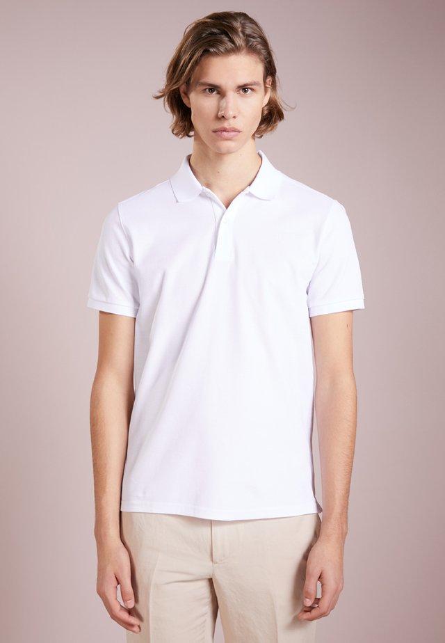 TROY CLEAN - Polo - white