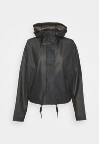 Hunter ORIGINAL - ORIGINAL CROP SMOCK - Summer jacket - black - 4