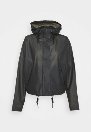 ORIGINAL CROP SMOCK - Summer jacket - black