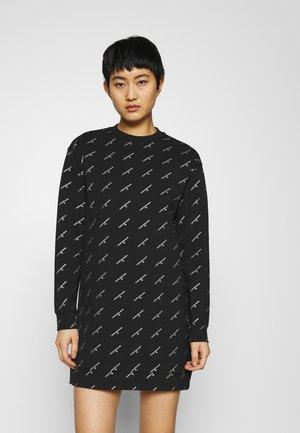 LOGO DRESS - Vestito estivo - black