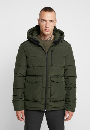 JORWAYNE PUFFER JACKET - Winter jacket - forest night