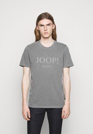 AMBROS  - T-shirts med print - silver