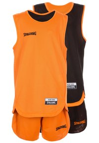 Spalding - SET - Sports shirt - orange/black - 6
