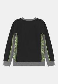 Nike Sportswear - COLOR BLOCKED CREW - Felpa - black - 1