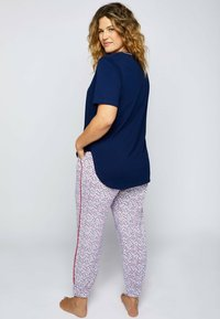 Ulla Popken - Pyjama top - navy - 1