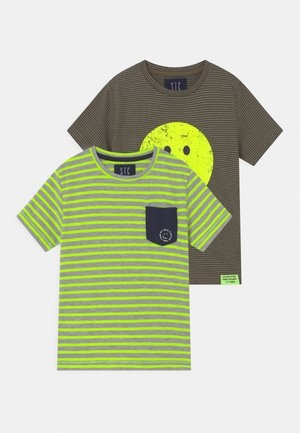 2 PACK  - T-shirt con stampa - multi-coloured