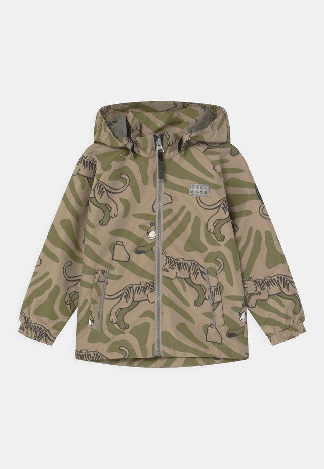 JANEK UNISEX - Outdoor jacket - dark khaki