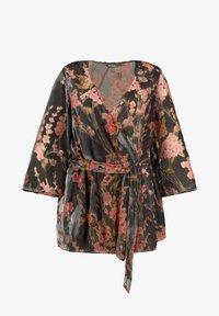 Ulla Popken - Summer jacket - dark grey - 0