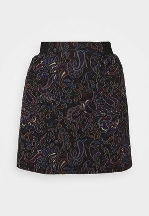 ANTIKA KATIOPA - Mini skirt - black