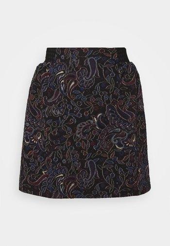 ANTIKA KATIOPA - Mini skirt - black