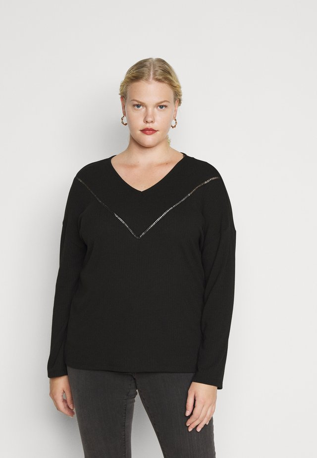 CARCAMILIE  - Camiseta de manga larga - black