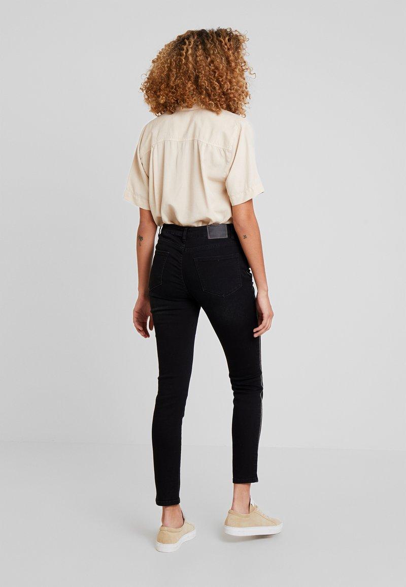 Opus - EVITA  - Jeans Slim Fit - deep black
