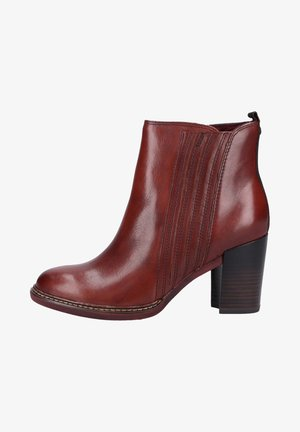 STIEFELETTE - Classic ankle boots - chestnut