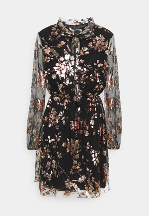 ADDISON FLORAL DRESS - Vestido informal - black