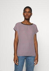 Esprit Collection - TEE WITH  - T-shirt z nadrukiem - black - 0