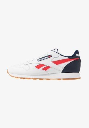 Trainers - white/collegiate navy/red