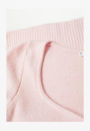 Pullover - rosa pastel