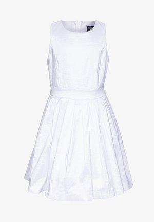 CLARA SHIMMER DRESS - Cocktailkjole - ivory