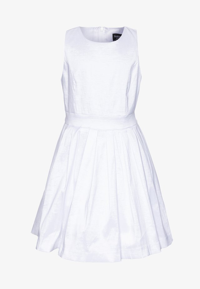 CLARA SHIMMER DRESS - Cocktailjurk - ivory