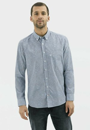 REGULAR FIT MIT ALL-OVER PRINT - Shirt - sky light