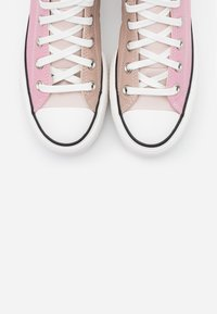 Converse - CHUCK TAYLOR ALL STAR LIFT - High-top trainers - salt pink/lotus pink/white - 5