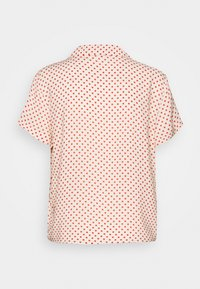 JDY - STARR LIFE - Button-down blouse - sandshell/etruscan red - 1