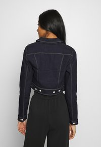 ONLY - ONLNEW WESTA CROPPED JACKET - Denim jacket - dark blue denim - 2