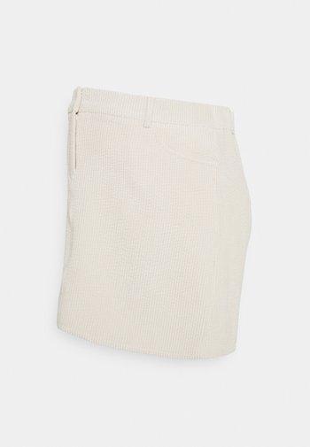 PCMSTEFFI SKIRT - Mini skirt - birch