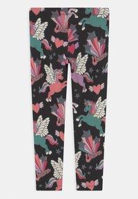 Lindex - UNICORN - Leggings - Trousers - off black - 1