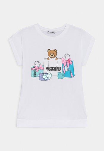 MAXI - Print T-shirt - optic white