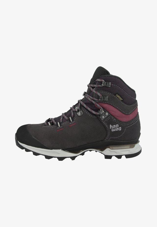 TATRA LIGHT LADY GTX - Climbing shoes - asphalt/dark garnet