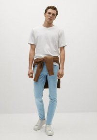 Mango - JUDE - Jeans Skinny Fit - light blue - 1