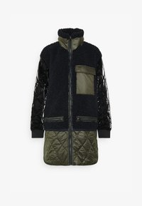 QUILTED LINER - Winter coat - mazarine blue