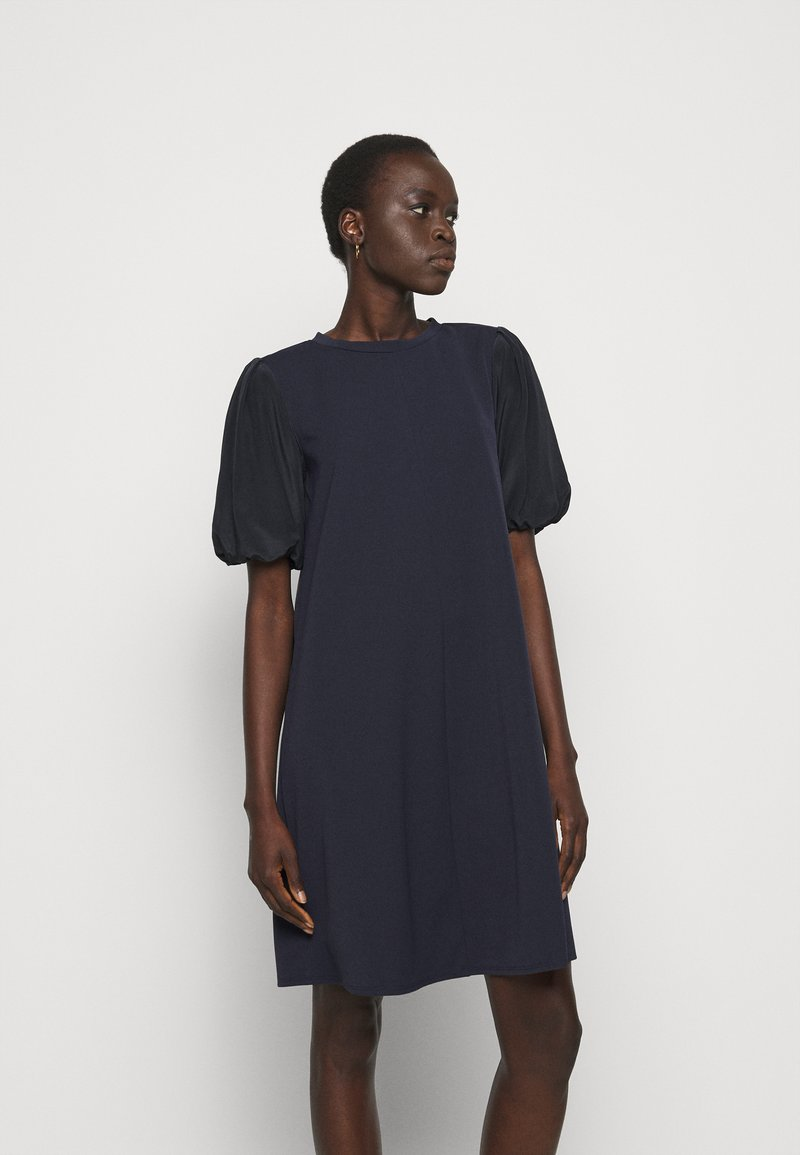 MAX&Co. - CRETA - Day dress - navy blue