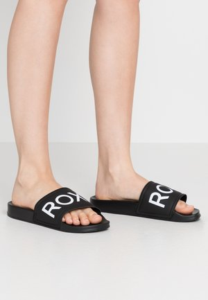 SLIPPY  - Sandalias planas - black