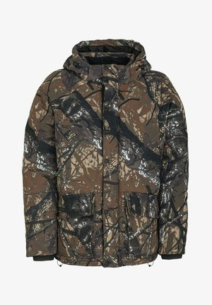 KENNETH - Winter jacket - forest green/camo