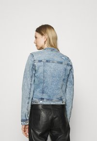 edc by Esprit - JACKET - Denim jacket - blue denim - 2