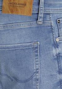 Jack & Jones - Denim shorts - blue denim - 2
