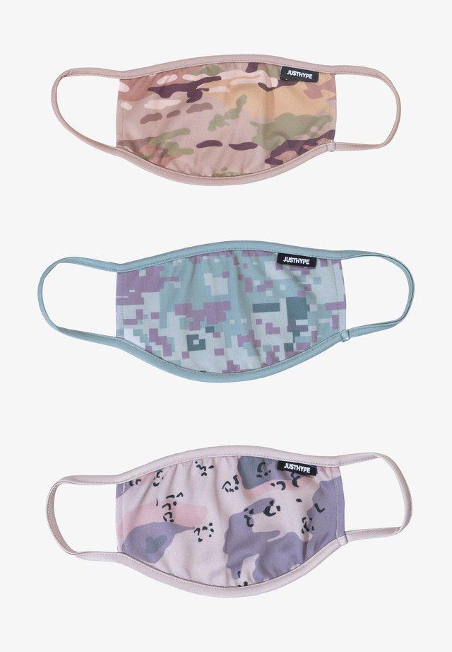 3 PACK  - Masque en tissu - multi