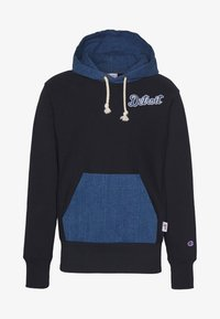 Champion - MLB DETROIT TIGERS HOODED - Pelipaita - dark blue - 6
