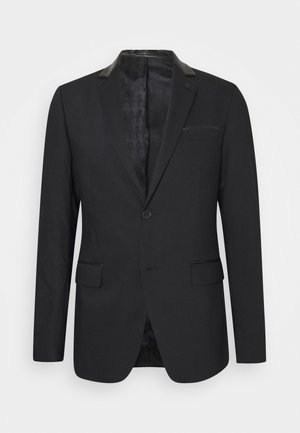 JACKET ROCK - Blazer jacket - black