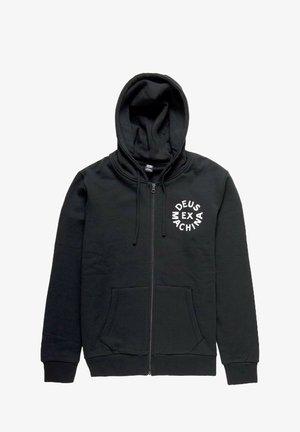 CIRCLE  - Zip-up sweatshirt - black